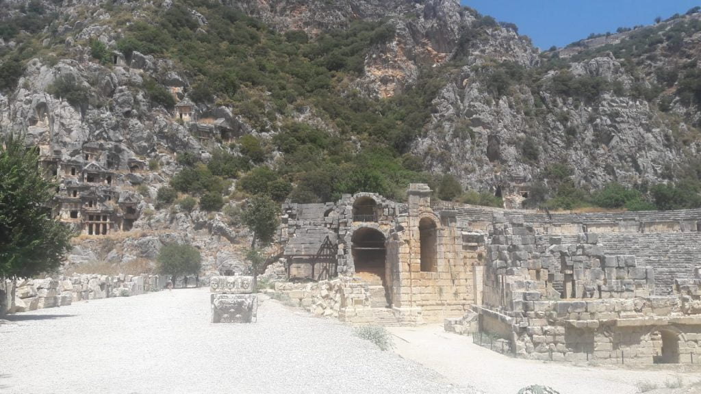 Myra Antik Kenti bir Likya şehridir